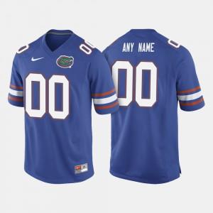 Men Florida #00 Royal Blue College Football Customized Jersey 498900-807