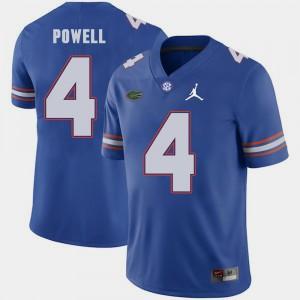 Men Florida #4 Brandon Powell Royal Jordan Brand Replica 2018 Game Jersey 598339-535