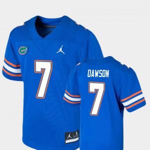 For Kids Florida Gators #7 Duke Dawson Royal Game College Football Jersey 405439-607
