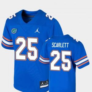 For Kids Gators #25 Jordan Scarlett Royal Game College Football Jersey 259851-867