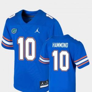 Kids Florida Gators #10 Josh Hammond Royal Game College Football Jersey 286282-907