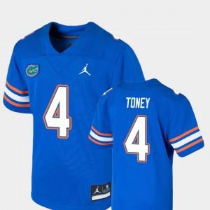 For Kids Florida Gator #4 Kadarius Toney Royal Game College Football Jersey 878092-671