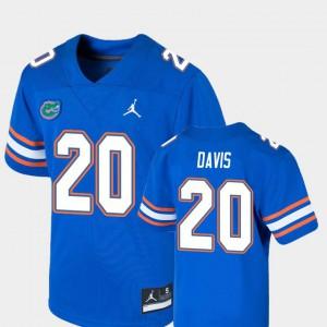 Youth(Kids) Florida #20 Malik Davis Royal Game College Football Jersey 362810-192